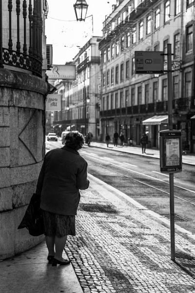 Rua da Prata, Lisbon by Potra