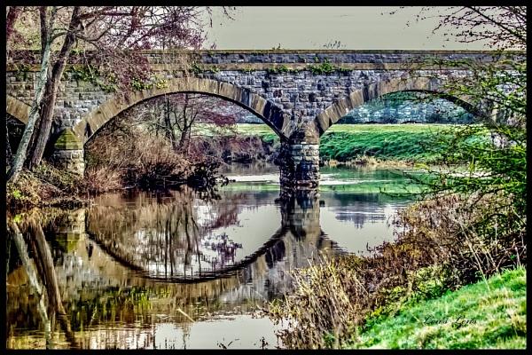 The old bridge by Lencollard