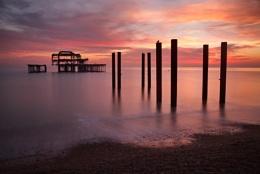 West Pier - sunset