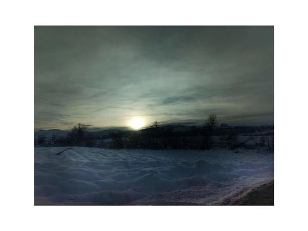 winter haiku 2 - snow sea by lostrita