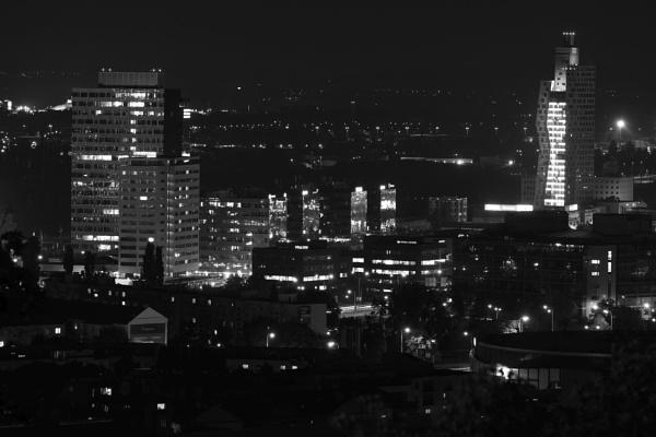 Brno skyscrapers by konig