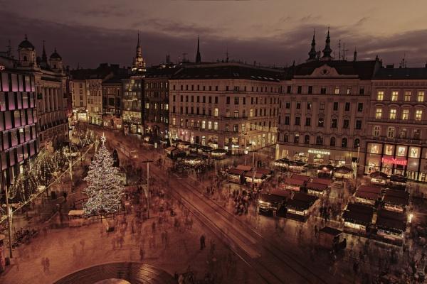 Christmas market Brno by konig