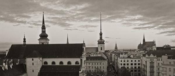 Brno city center by konig