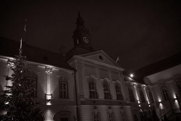 Brno new townhall at Christmas by konig