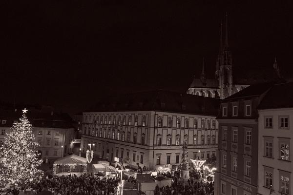Zelny trh Brno at Christmas by konig