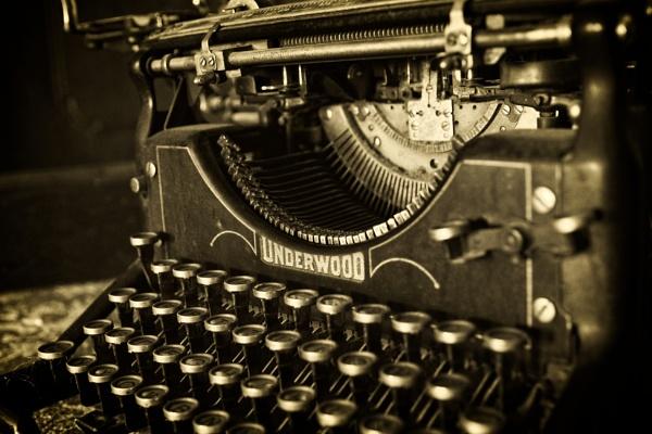 Typewriter at Letovice castle by konig