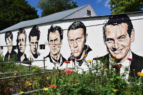 Elvis, James, Marlon, Clint, Steve and Paul by lebkuchen