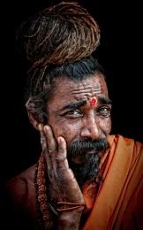 A young sadhu in Rishikesh