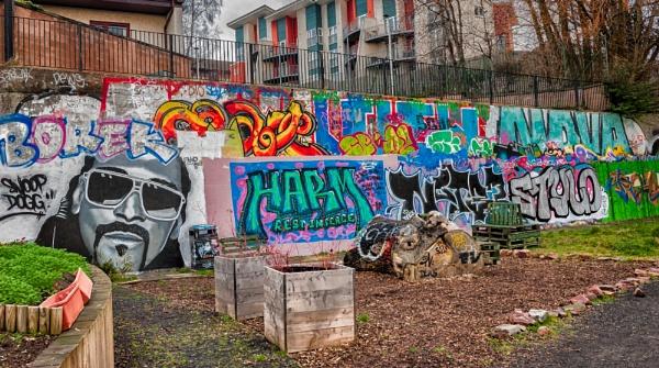 Urban Art by scrimmy