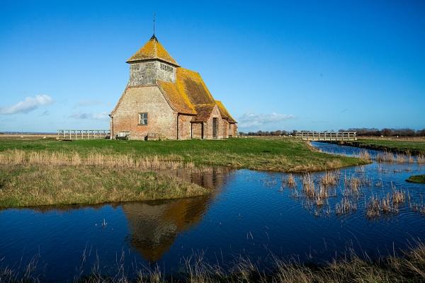 Fairfield Church, Romney Marsh by rontear