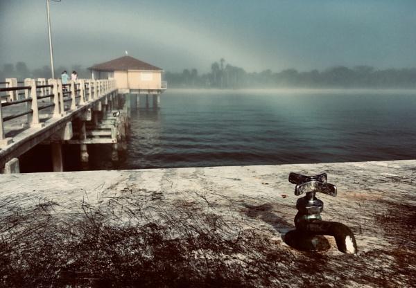 Fisherman\'s Fog Bow by Trevhas