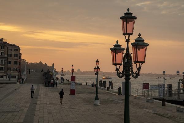 Sunrise in Venice by Lillian