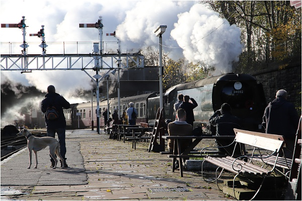 Waiting for the Steam! by johnriley1uk