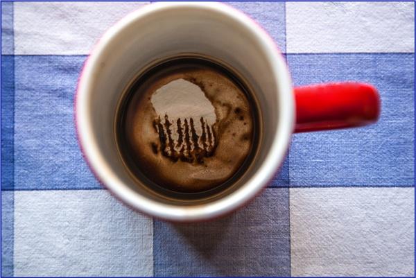 not tea leaves reading... by estonian