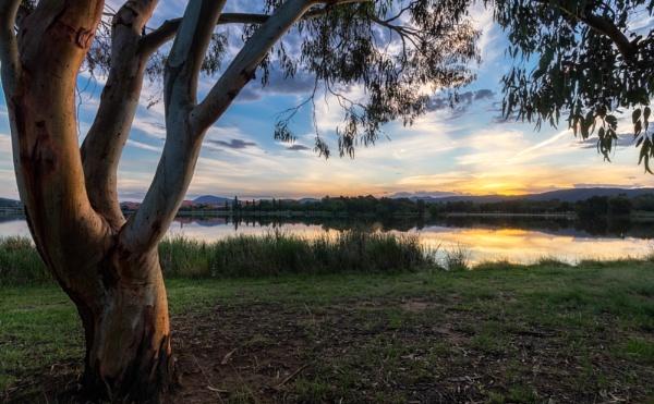 Summer Side, Lake Tuggeranong, Canberra by BobinAus