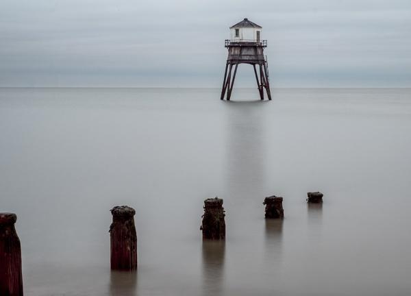 Lighthouse At Dovercourt Essex by MartinLeech