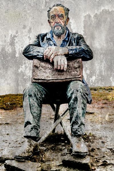 Seated Man by alandeja