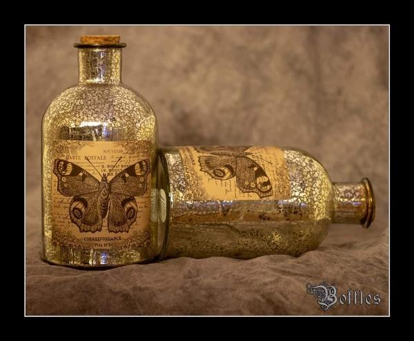 Still life bottles by r0nn1e