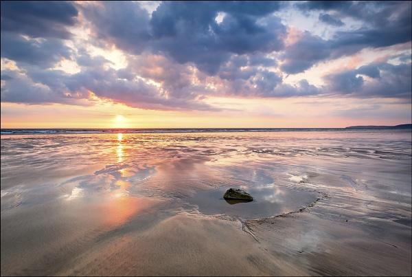 Westward Ho! Sunset by stephenring