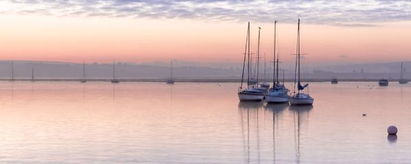 Keyhaven Sunrise by john_slevin