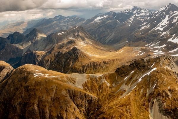 Mountain Peaks by Stevefz