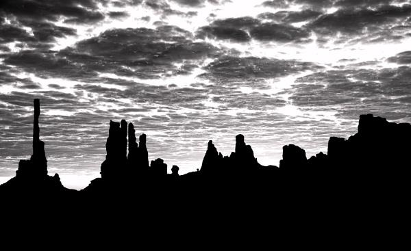 Desert Silhouettes by mlseawell