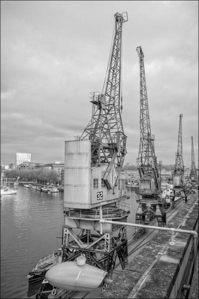 Bristol Cranes by Kilmas
