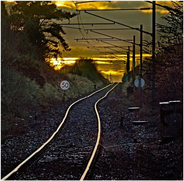 The Line to Edinburgh by mac