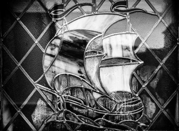 Stainglass window by milepost46