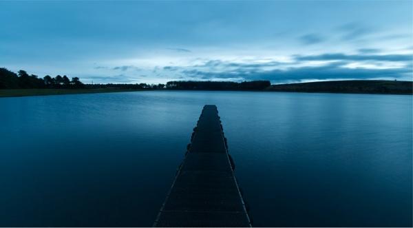 Reservoir Pier by jk
