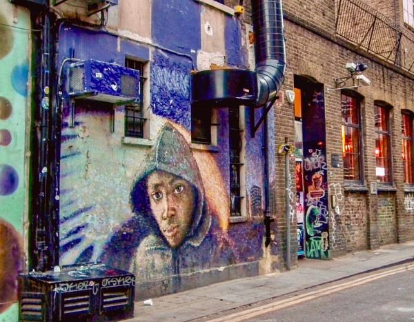 Urban art by KrazyKA
