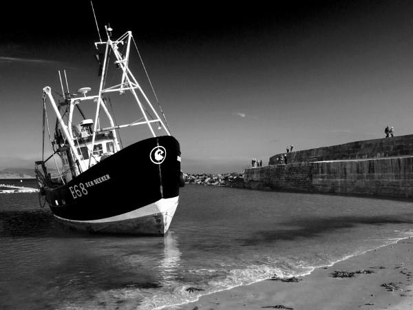 Sea Seeker, The Cobb, Lyme regis by starckimages