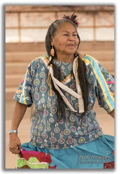 Native American dancer by IainHamer