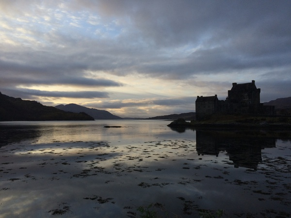 Late afternoon Eileen Donan Castle on the Road to Skye Scotland by topcatj