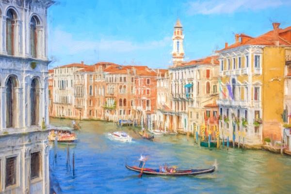Grand Canal, Venice by SueLeonard