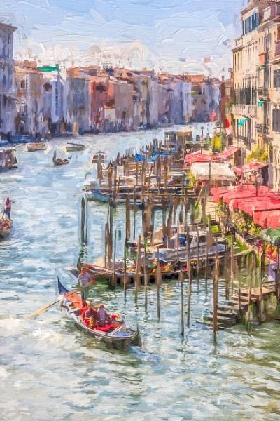 Grand Canal, Venice, Italy by SueLeonard