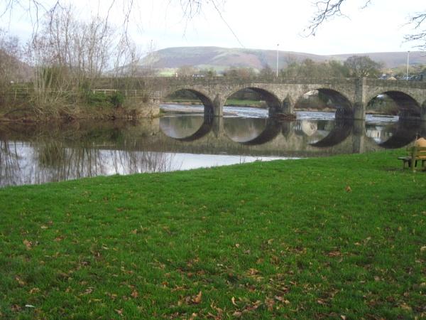 The Bridge Over the River Wye..... by Brilane