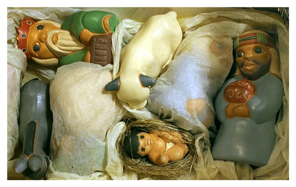 Away with the manger - clearing up from Christmas by helenlinda