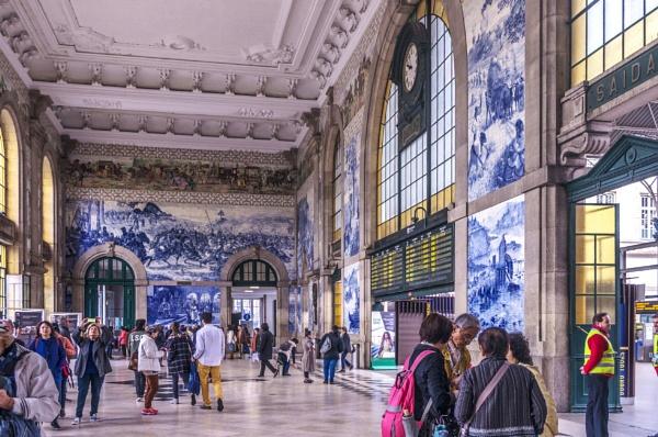 Sao Bento Railway Station (interior views) by nonur