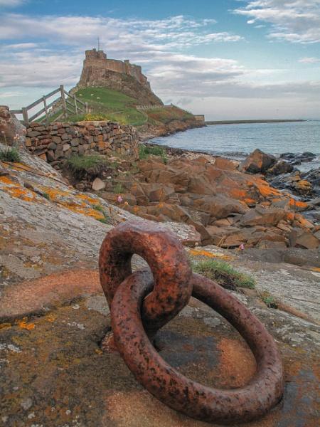 Lindisfarne Castle by pink
