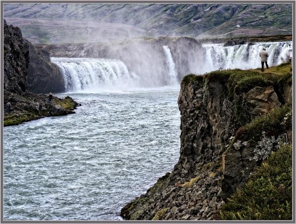 Godafoss Waterfall - Iceland by PhilT2