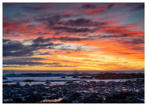 Sky on fire by EddyG