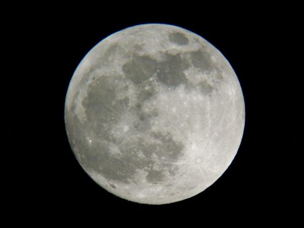 Super wolf moon by DerekHollis
