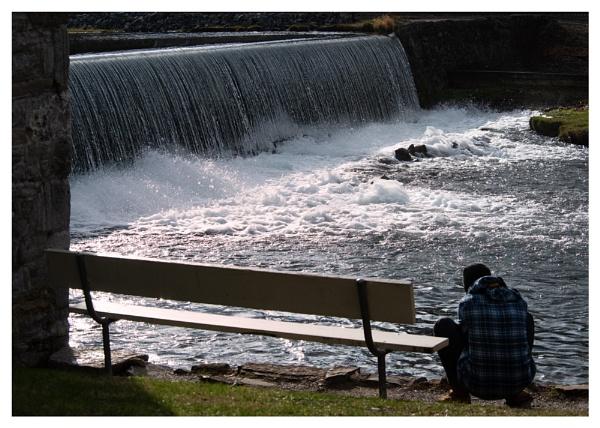 Falls at Laughlin Mill by taggart