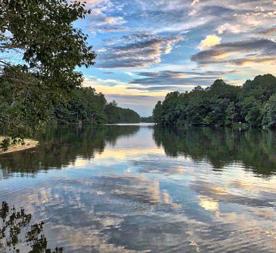 Lake Tamarack at Sunset