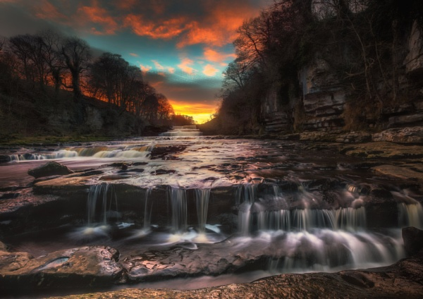 Aysgarth Sunset by Legend147