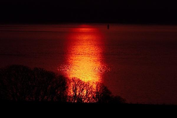 Sunrise over Loch Ryan