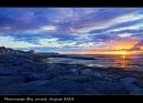 Moorcambe Bay sunset by C_Daniels