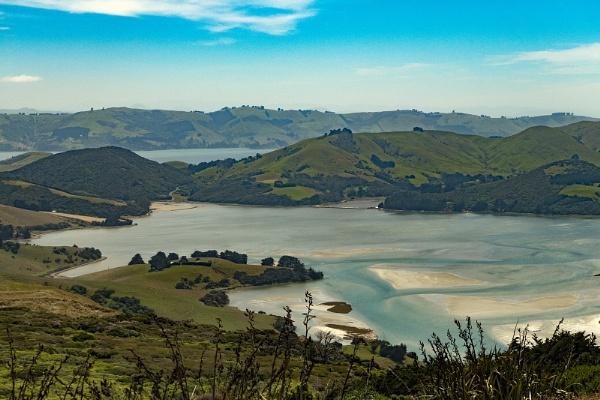 View from Sandymount.( Otago peninsula Dunedin NZ) by Janetdinah