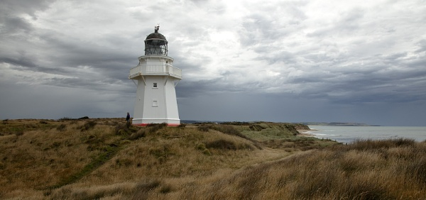 Waipapa Point Lighthouse - South Island New Zealand by VincentChristopher